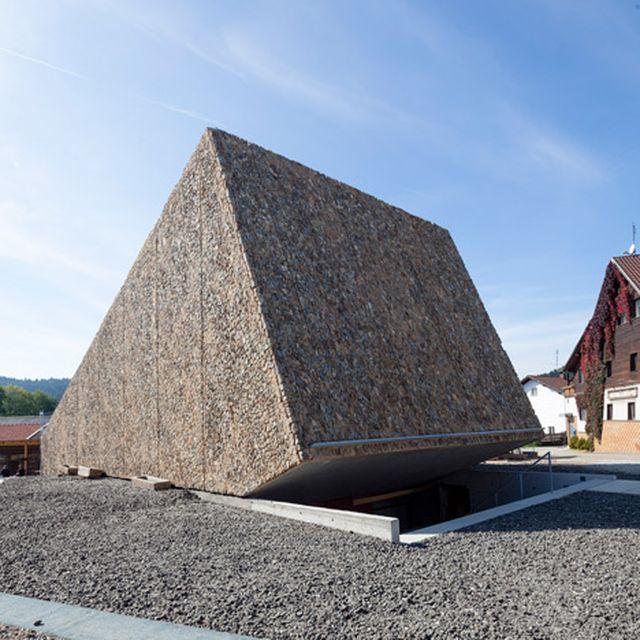 image: Peter Haimerl's Bavarian concert hall has a rough st... by hallowedbronze