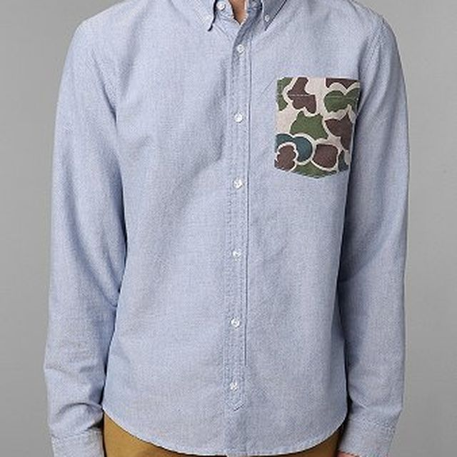 image: Camo-Pocket Oxford Shirt by andy-rice