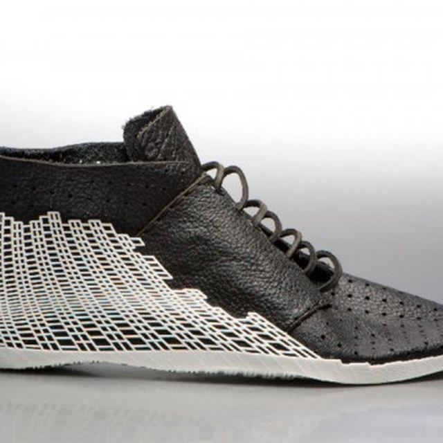 image: 3D Printed Hybrid Shoe by Earl Stewart by goyette