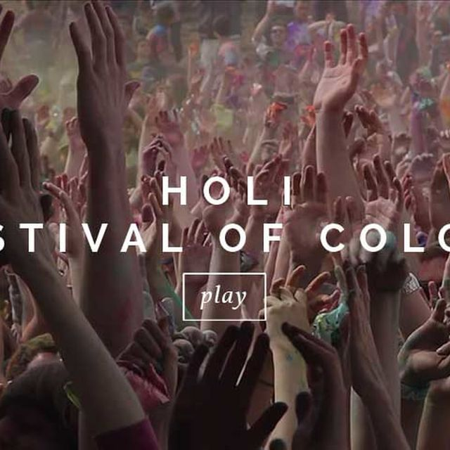 video: Festival of Colors by allerretour