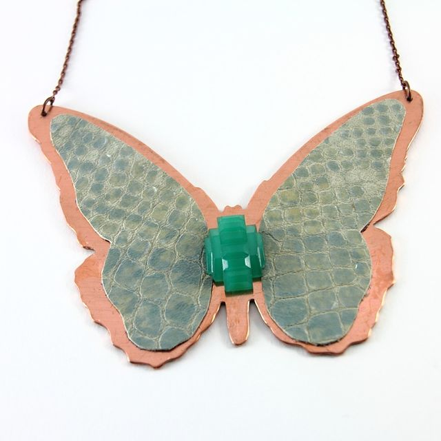image: Butterfly necklace by 34chic