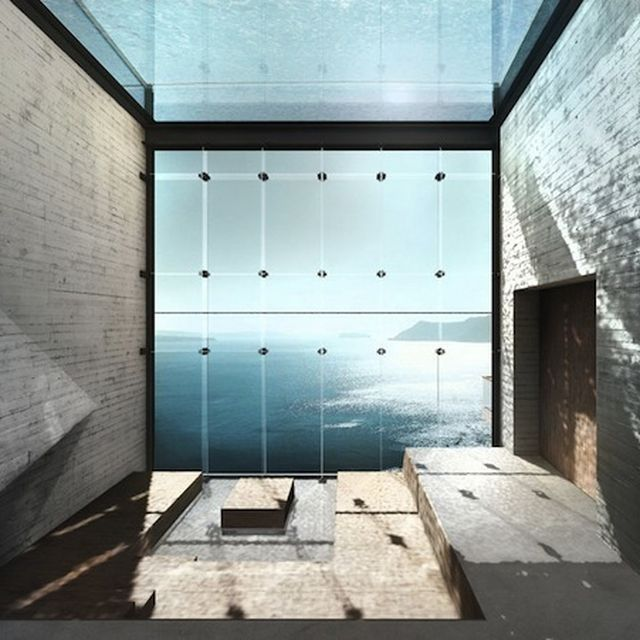 image: Stunning Glass House Sits Hidden In The Edge Of A Cliff by samysocial