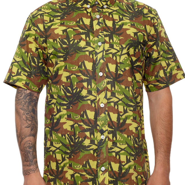 image: JUNGLE CAMO BUTTON-UP · SUMMER 2013 · by REBEL8 by mapydh
