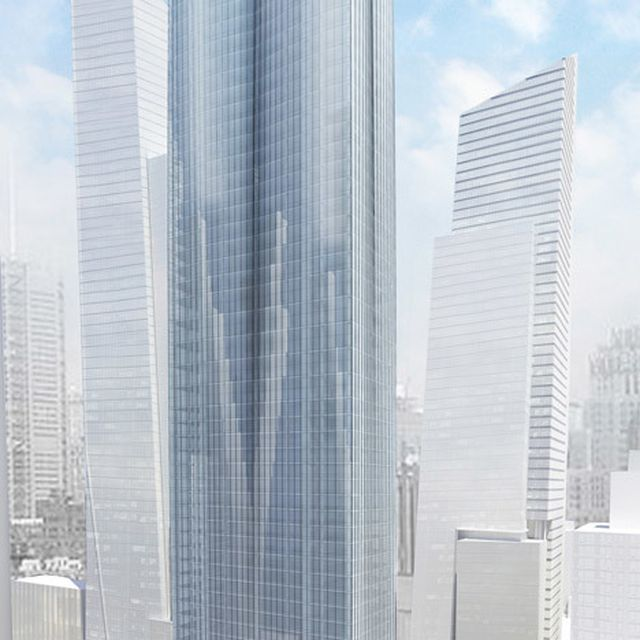 image: First residential tower underway at Hudson Yards by hallowedbronze