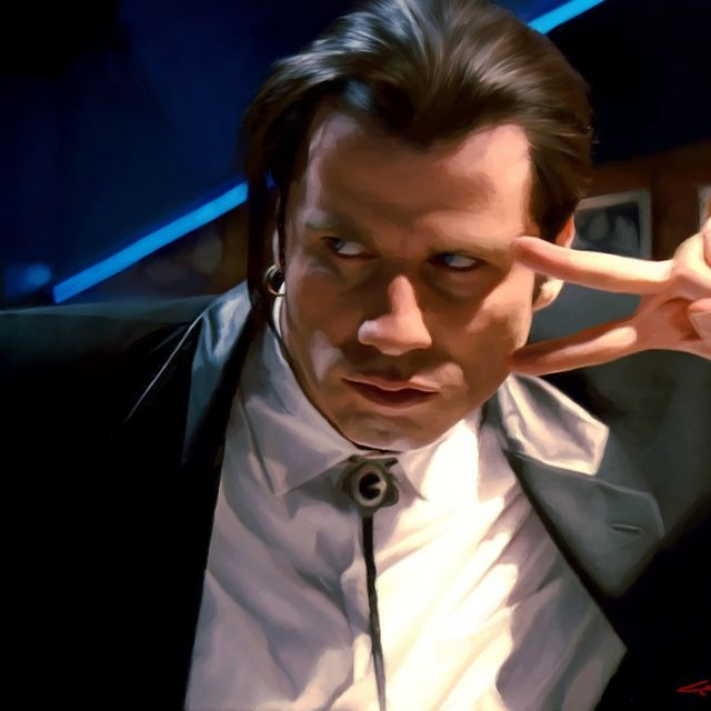 image: Vincent Vega - John Travolta @ Pulp Fiction by gabrielttoro