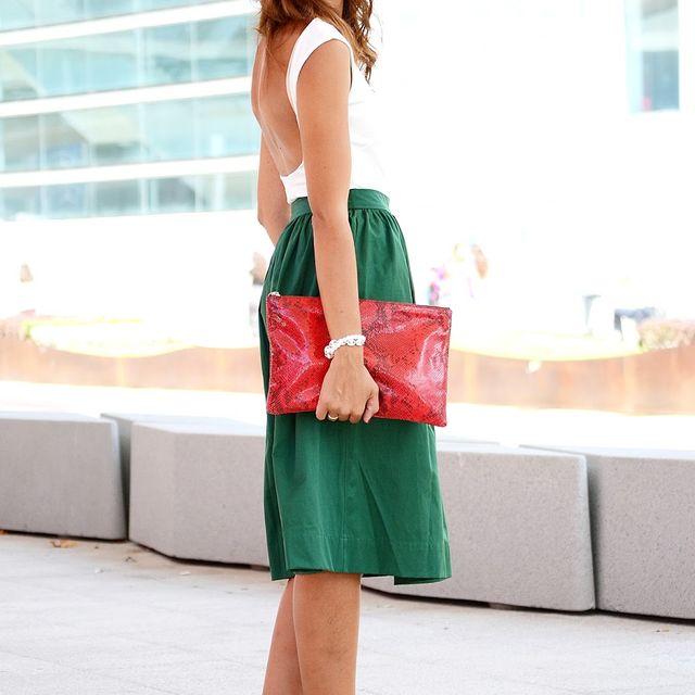 image: Green lady by elblogdesilvia