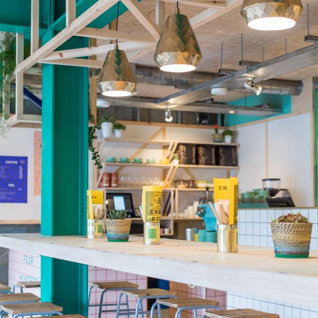 image: Colorful Restaurant Design by brightbazaar