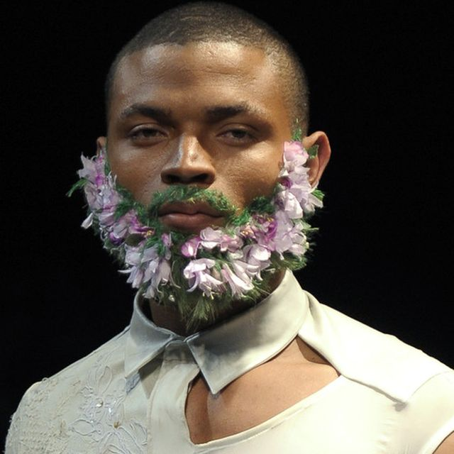 image: FLORAL BEARD by g