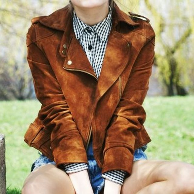 image: suede jacket by heymercedes