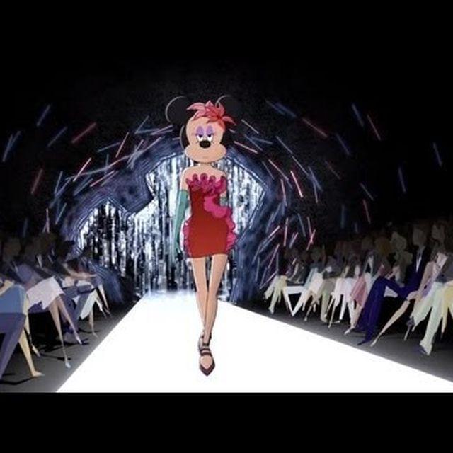 video: Fashion Disney by sebastian-l-severiche