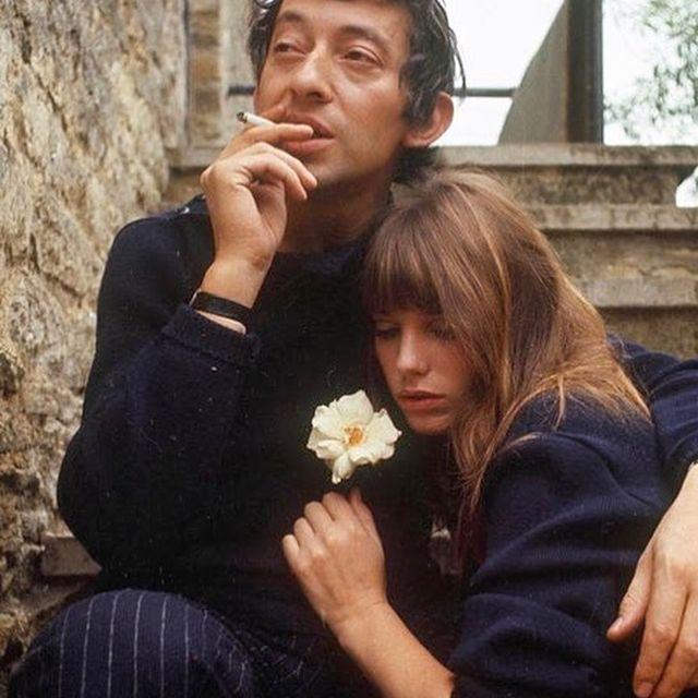 image: Serge Gainsbourg & Jane Birkin, 1969. by vintage_smokes