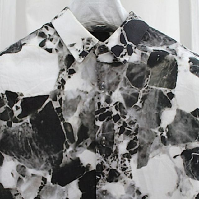 image: jil sander marble shirt by arroyo