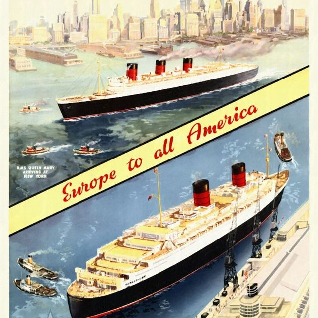 image: Cunard - Europe to all America by gabrielttoro