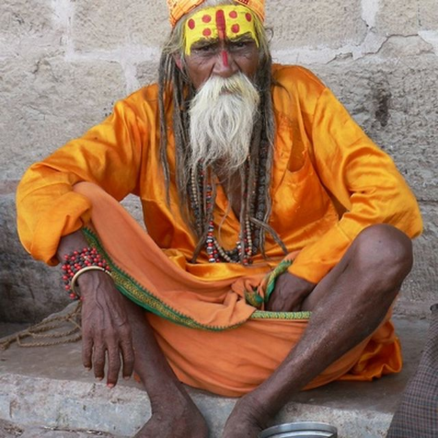 image: Yogi Varanasi by monsieur-traveler