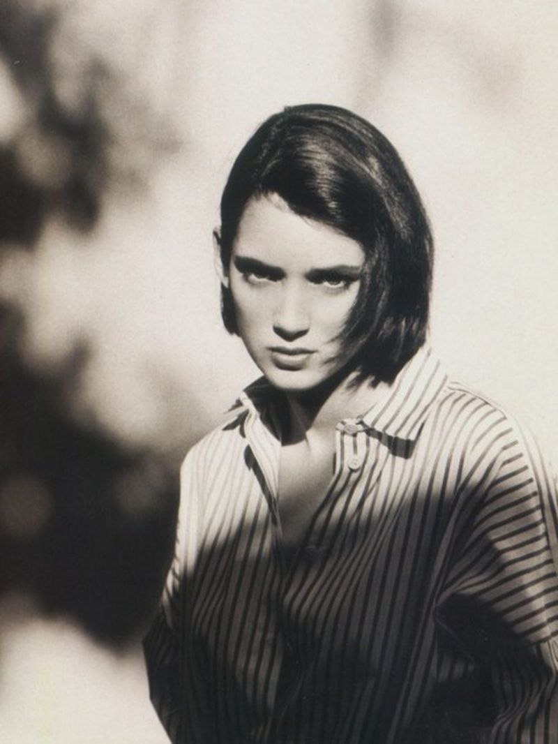 image: Winona Ryder - The Face by Albert Sanchez, November 198 by aliceandgabriella