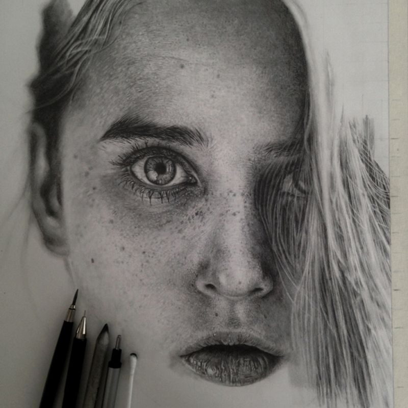image: Realistic Drawing by paumadness
