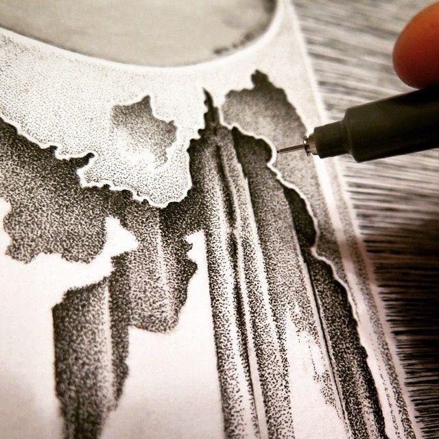 image: Detalles en proceso. #arte #pintura #madrid #dibujo ... by daniel_rod