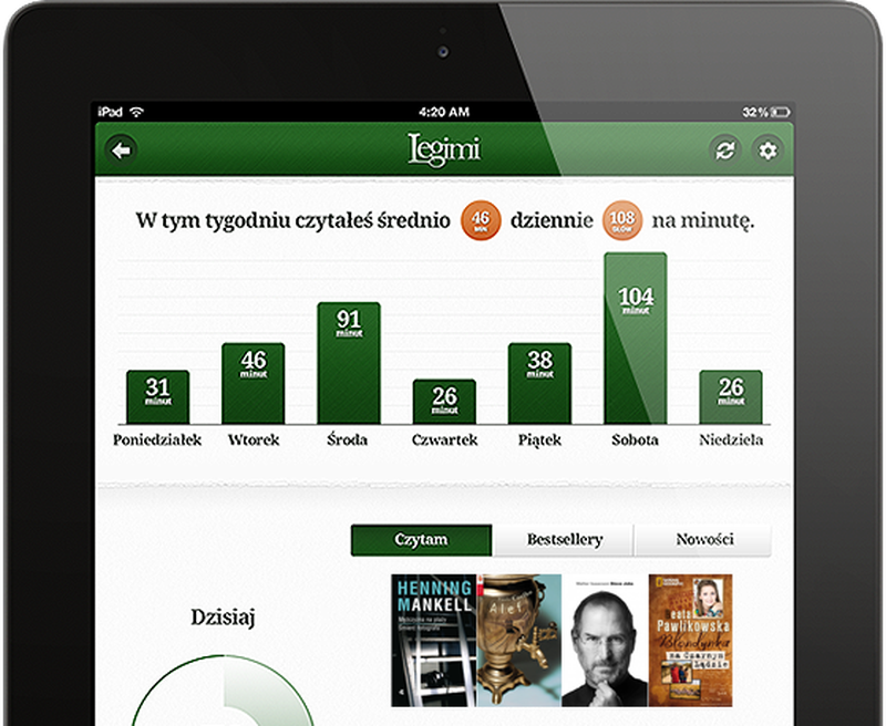 image: Legimi Wants To Be The 'Spotify For Ebooks' by james-the-creator
