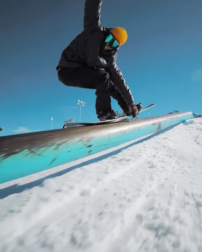 image: Down Undah ?? Back to Winter and Australia again ?? Lil clip from the first day ☃️ video: @gimbalgod #cantstop by stalesandbech