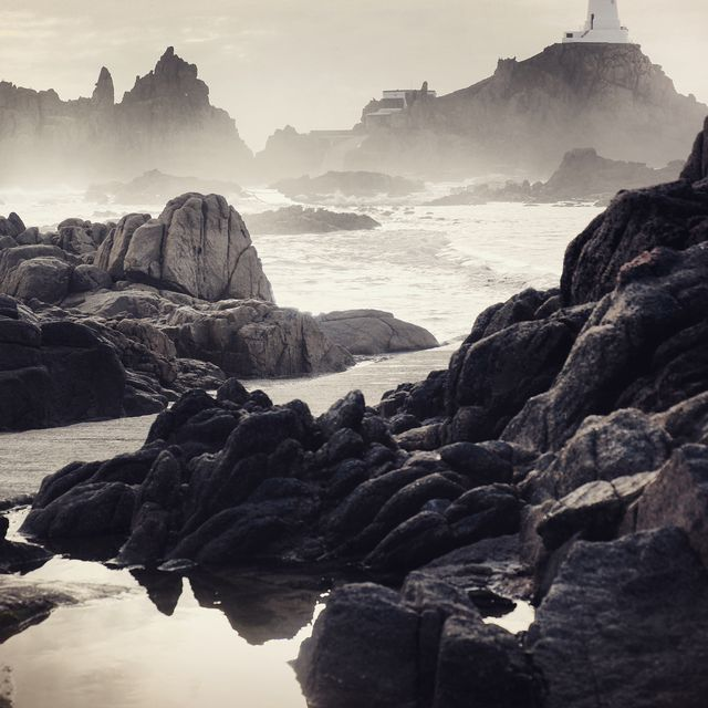 image: While I was shooting for @VisitJerseyCI I had many locations to visit but I got stuck here at La Corbière Lighthouse. What was supposed to be a thirty-minute photo stop turned into three hours. I couldn't leave. I stayed and watched the incoming tide... by mikekus