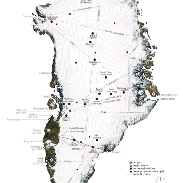 image: Greenland map by casupari