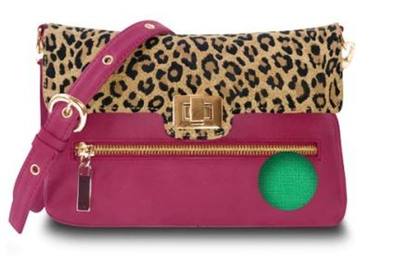 image: Pink and print bag - Ude Unik by i-blame-coco