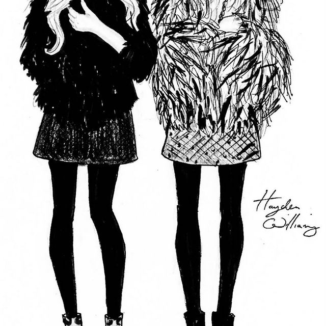 image: OLSEN TWINS X HAYDEN WILLIAMS by julia-estefaniaflores