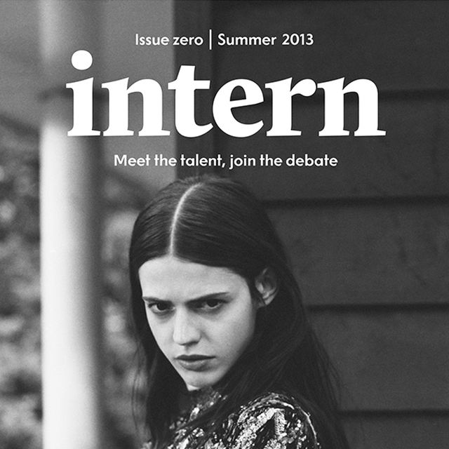 post: Intern magazine by anders
