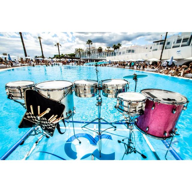 image: My Drums at Ocean Club Marbella by eche