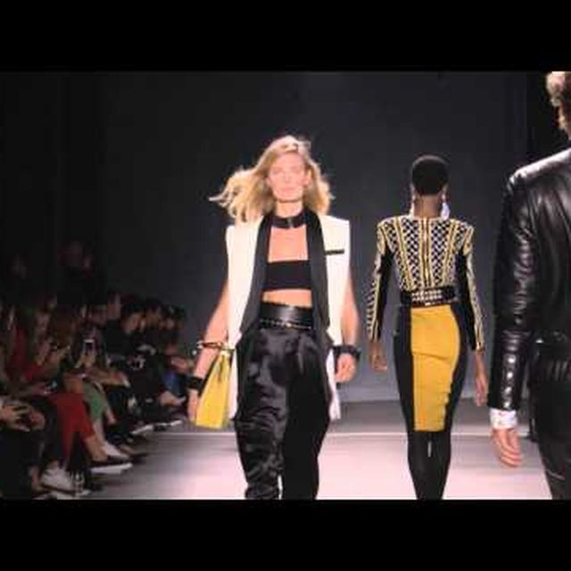 video: Balmain x H&M event in NY by caritina