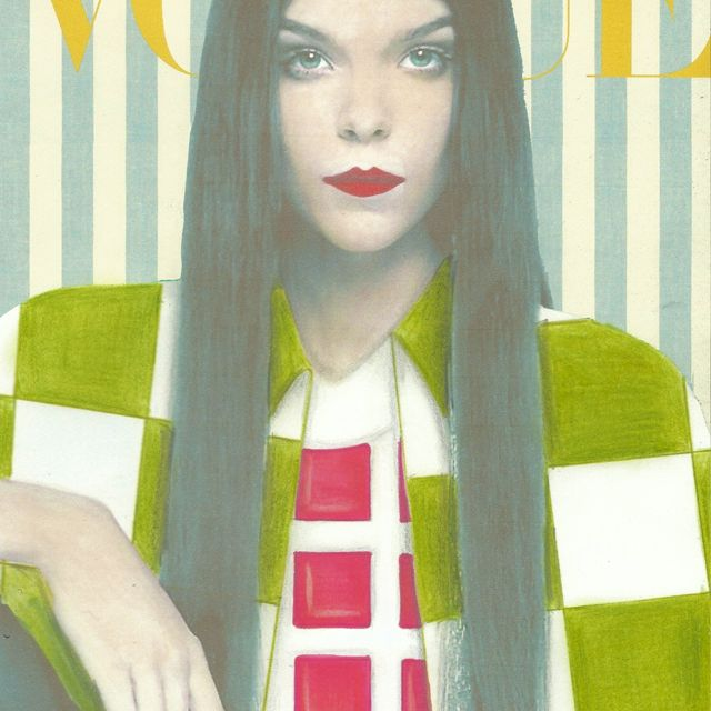 image: Handmade Vogue Italy Cover by diaryofstyle
