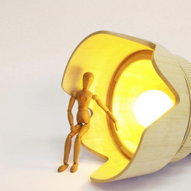 image: DSLR Paparazzi lamp by monoculodesign