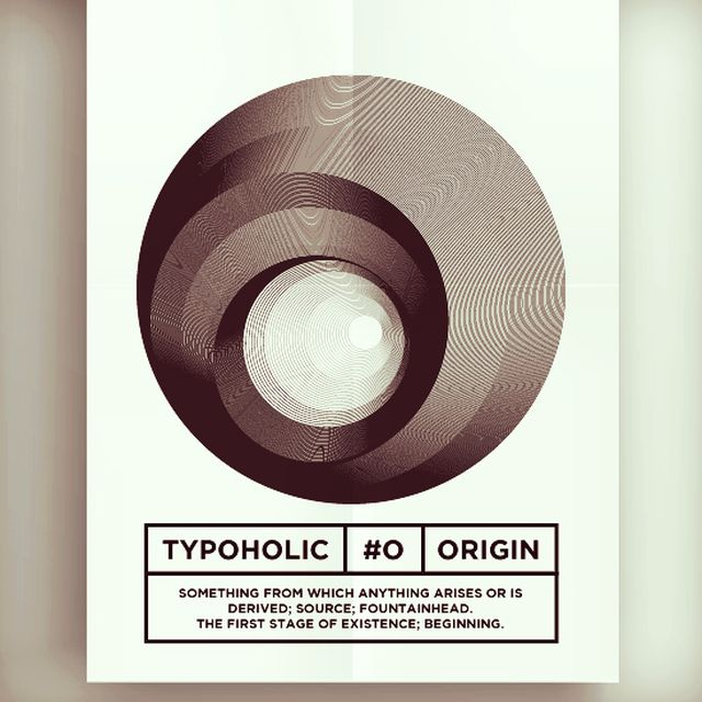 image: #typoholic - O by guillermovazquez