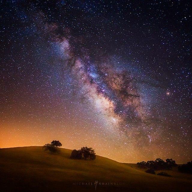 "image: ""Luminous""The Milky Way over Santa Ynez. by michael_shainblum"