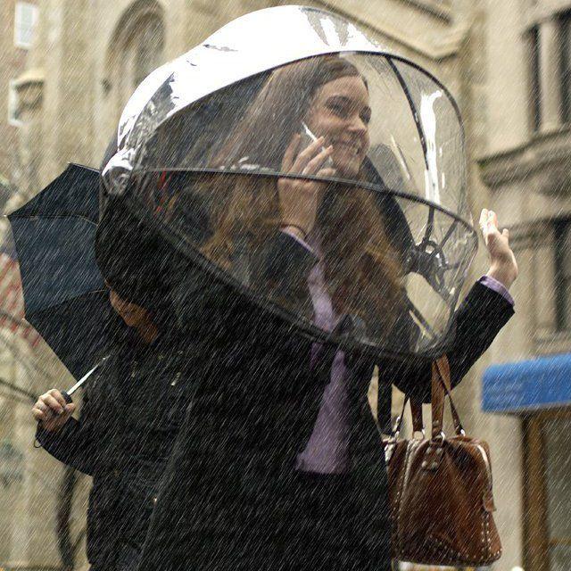 image: Nubrella Hands Free Umbrella by rmuinelo