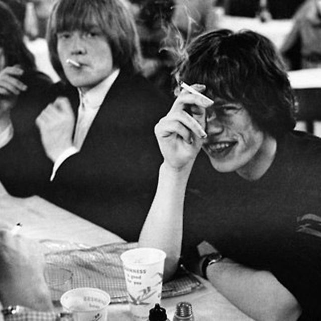 image: Brian Jones and Mick Jagger,... by vintage_smokes