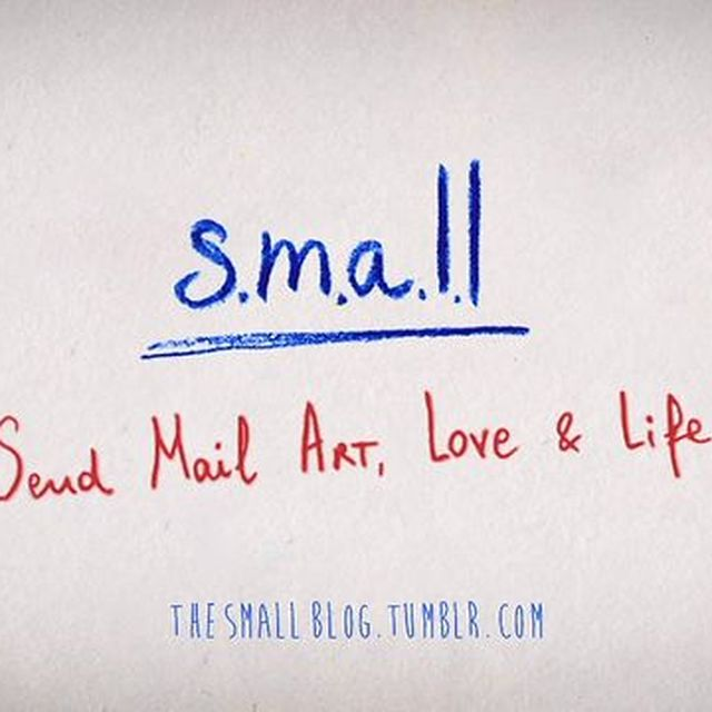 video: s.m.a.l.l.   (Send Mail Art, Love & Life) by RachelVigo
