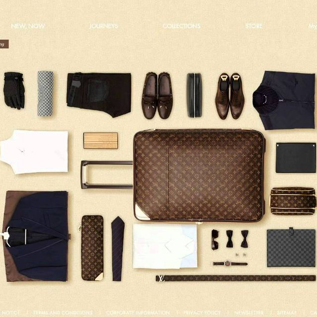 video: THE ART OF PACKING. LOUIS VUITTON by blair-w
