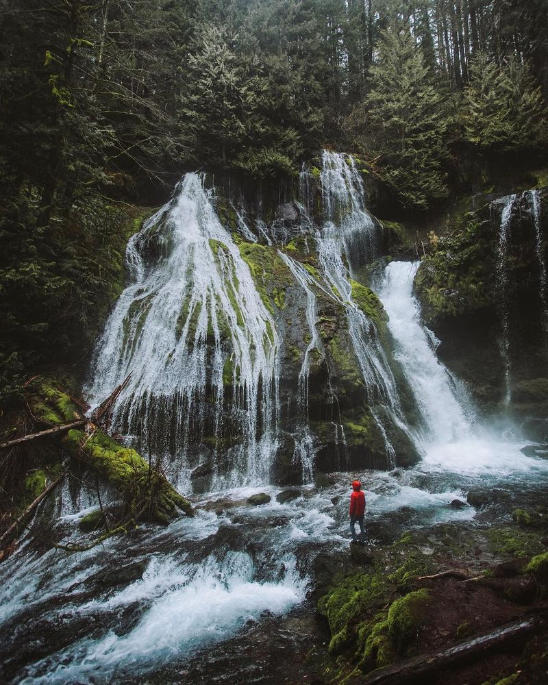 image: A rainy day at panther creek... by cameronleeanderson