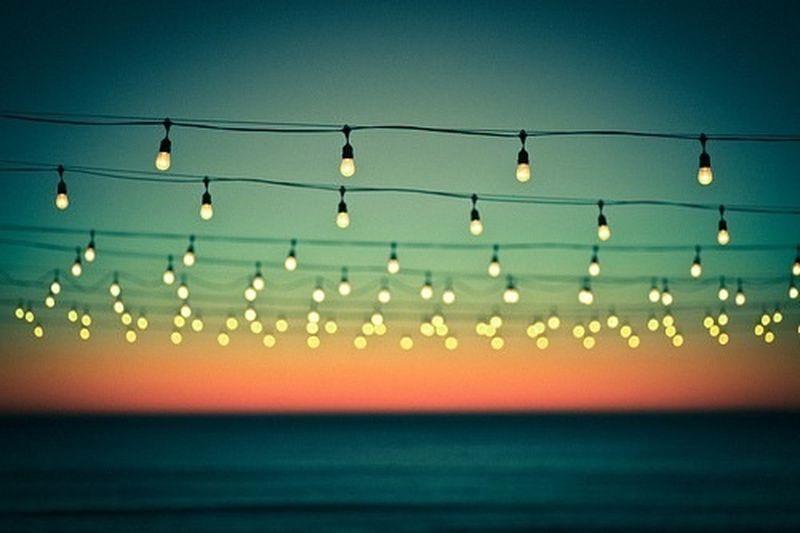 image: Sunset lights by yellownudemarine