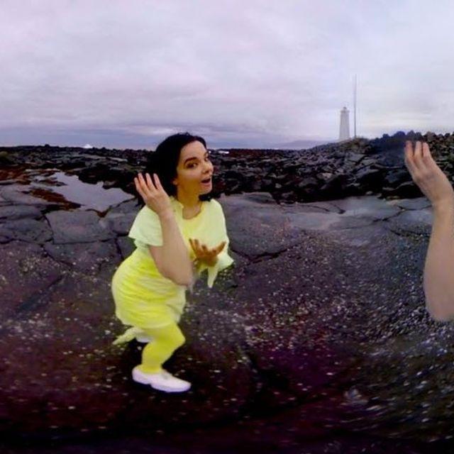 video: björk: stonemilker (360 degree virtual reality) by estad