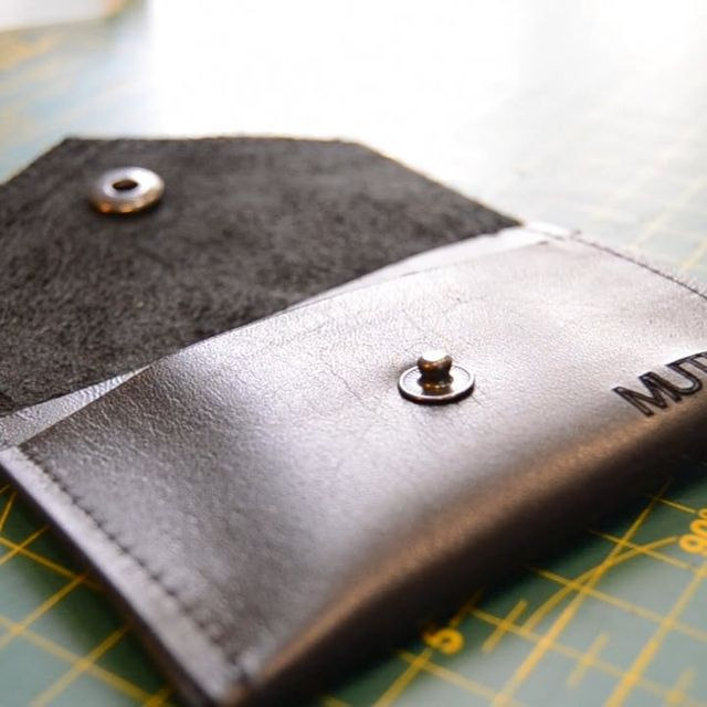 video: Leather Cardholder on Vimeo by mutedclothing