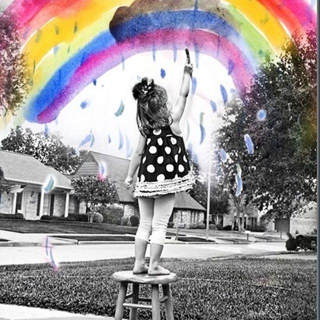 image: Draw the rainbow by marina