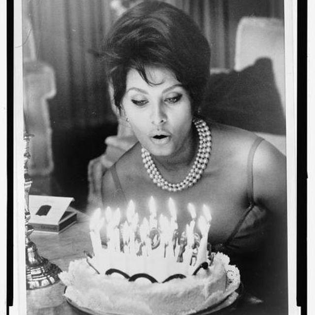 image: Sofia Loren Birthday by freigeist84