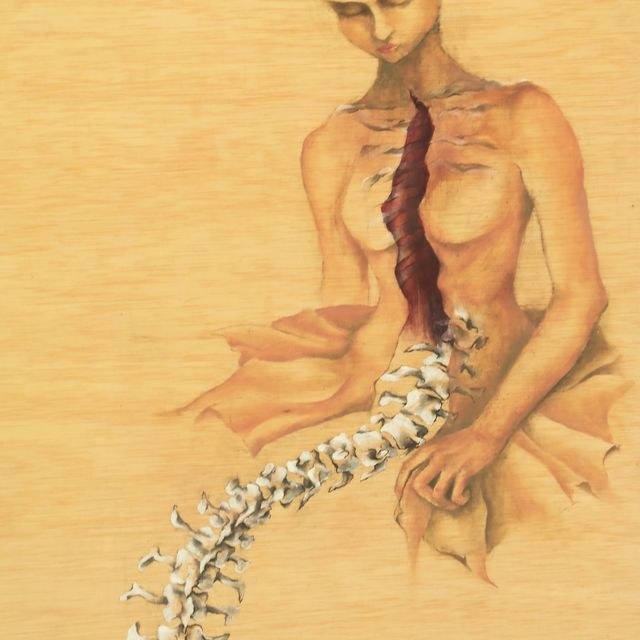 image: Escape de la medula espinal como posibilidad onírica by anaminum