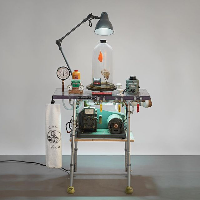 image: Objects of Devotion on view @speronewestwater Vaguum,...mixed...62 H x 33.25 W x 20.5 D...S/N: 2012.153 by tomsachs