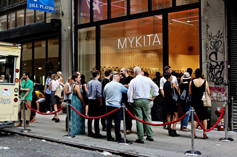 image: MYKITA Shop New York opening by martinvazquez