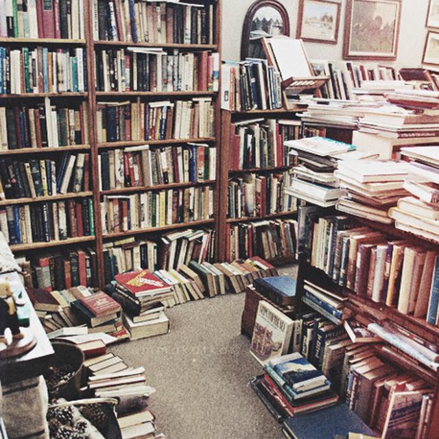 image: books by somewhereiwouldliketolive