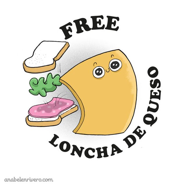 image: Freedom for loncha de queso. by anabelenrivero