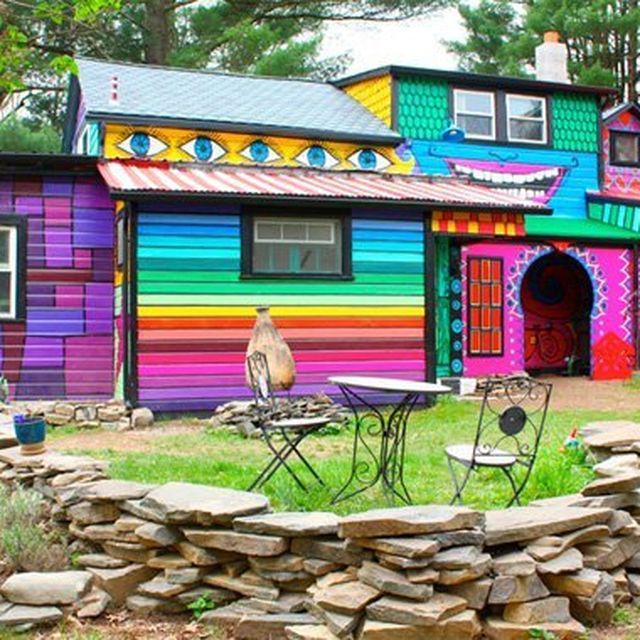 image: Colorful Exterior by abidingchips